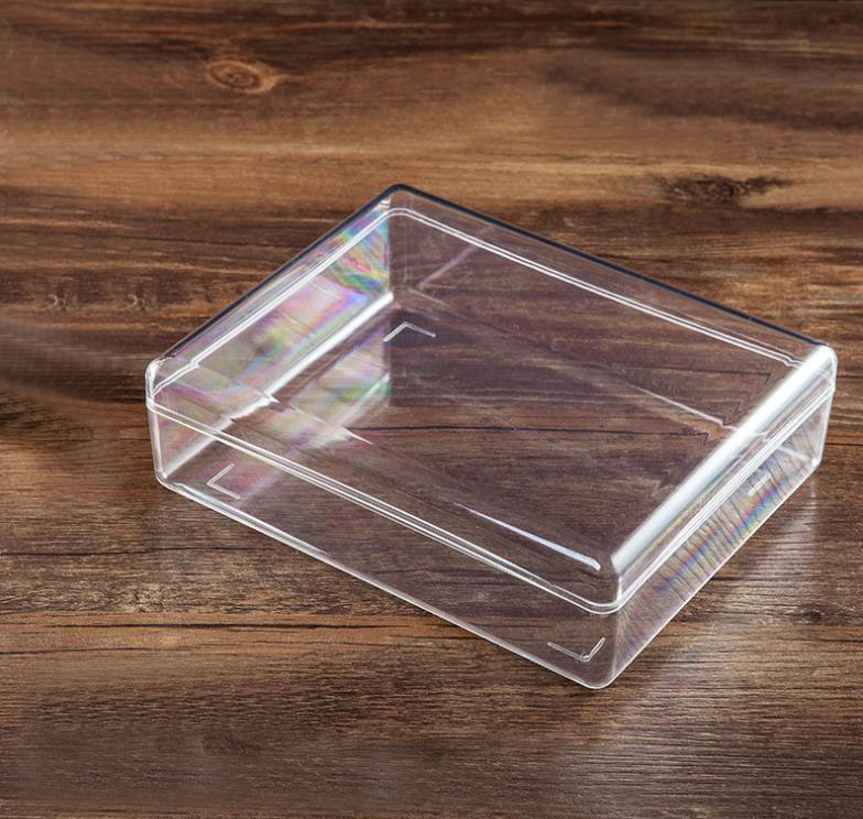 optical light shielding box injection molding from transparent