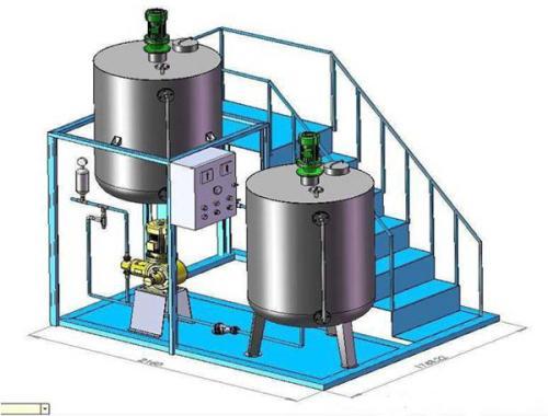源水处理应该如何选择全自动加药系统