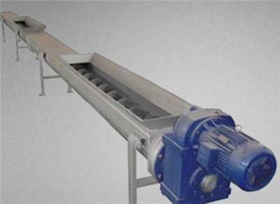 修改螺旋输送机以提高性能和可靠性