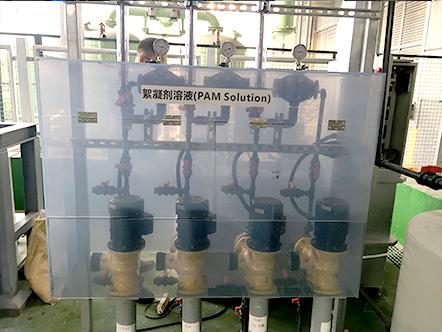 加药系统如何控制絮凝剂的量?