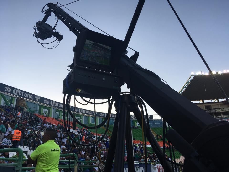 安迪攝像搖臂在墨西哥體育賽事中